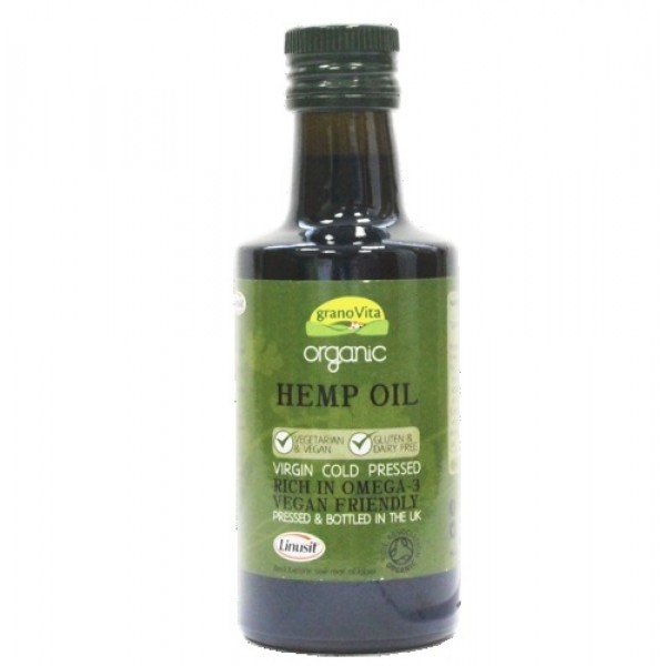 Organic Hemp Oil (260ml)